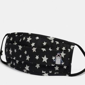 Coach Mask Sharky Face Mask With Star Print